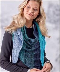Squared Off Shawl Free Knitting Pattern