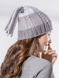 Tassel Hat Knitting Pattern