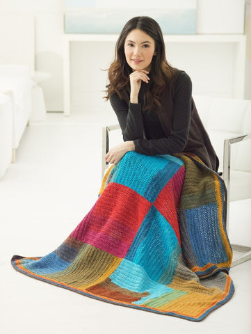 Two Directions Afghan Crochet Free Pattern