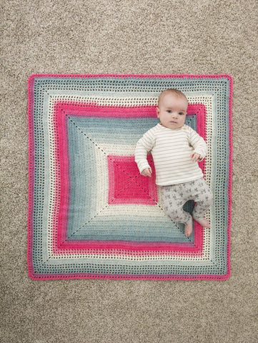 Whitby Baby Blanket Crochet