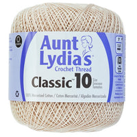 Aunt Lydia's Classic Crochet Thread Natural