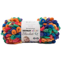 Bernat Alize Blanket-EZ Yarn Bright Rainbow