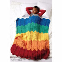 Rainbow Ripple Blanket