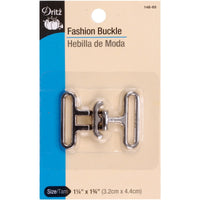 Fashion Toggle Buckle Nickel 1.75in x 1.75in