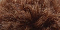 Faux Fur Pom Pom Brown Muskrat 1/Pkg
