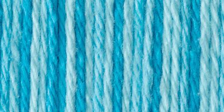 Bernat Handicrafter Cotton Yarn Ombres Swimming Pool