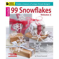 Leisure Arts 99 Snowflakes Volume 2