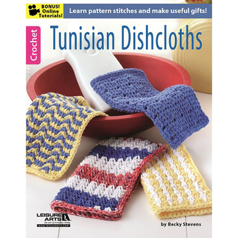 Leisure Arts Tunisian Dishcloths