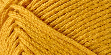 Lion Brand 24/7 Cotton Yarn Goldenrod