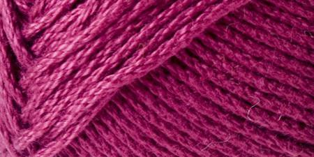 Lion Brand 24/7 Cotton Yarn Magenta