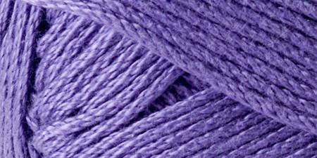 Lion Brand 24/7 Cotton Yarn Purple