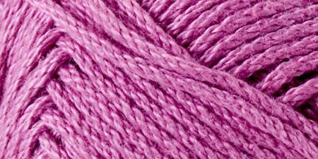 Lion Brand 24/7 Cotton Yarn Rose