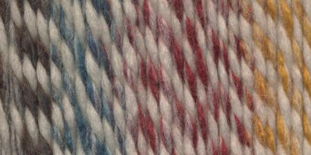 Lion Brand Wool-Ease Thick & Quick Yarn Hudson Bay Stripes