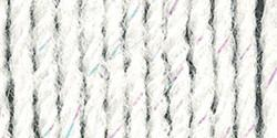 Lion Brand Wool-Ease Yarn White Glitter