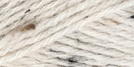 Mary Maxim Natural Alpaca Tweed Yarn Raw Cotton