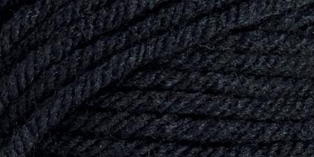 Mary Maxim Ultra Mellowspun Yarn Black