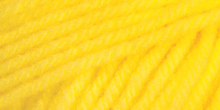 Mary Maxim Ultra Mellowspun Yarn Bright Yellow