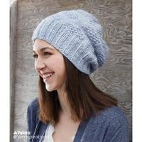 Patons Polka Dot Knit Hat