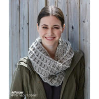 Patons Wafflin' Around Crochet Cowl