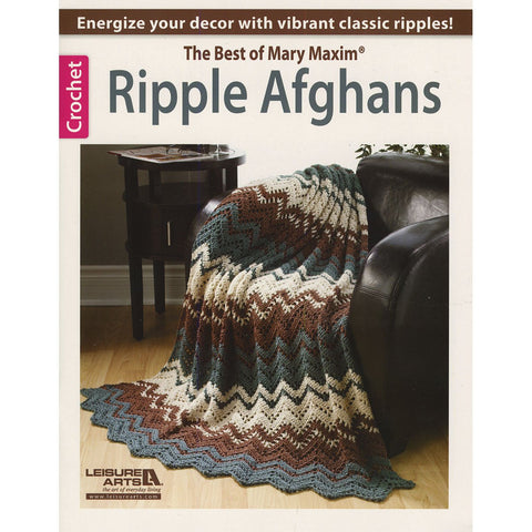 Ripple Afghans The Best Of Mary Maxim