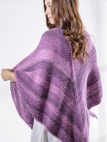 Simply Stripey Shawl