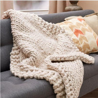 Wonderful Big Stitch Throw