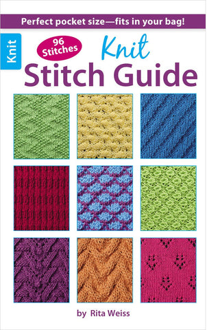 Leisure Arts Knit Stitch Guide