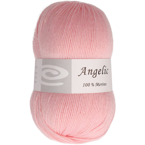 Elegant Yarns Angelic Yarn Powder Pink
