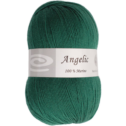 Elegant Yarns Angelic Yarn Forest Green