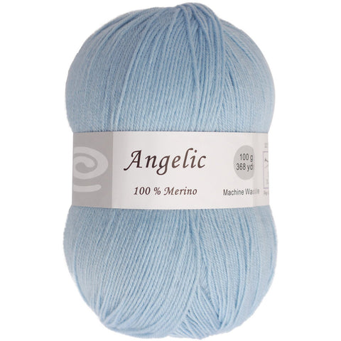 Elegant Yarns Angelic Yarn Pale Blue