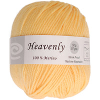 Elegant Yarns Heavenly Yarn Lemon Yellow 175oz