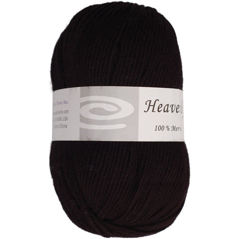 Elegant Yarns Heavenly Yarn Charcoal Black
