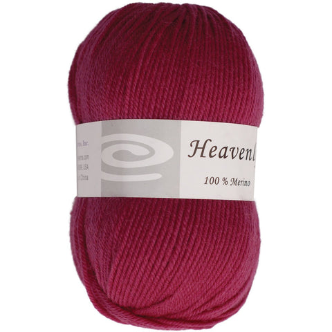 Elegant Yarns Heavenly Yarn Eggplant Purple
