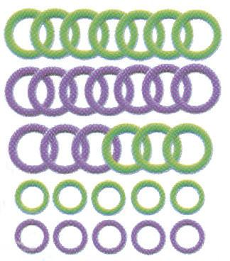 Soft Stitch Ring Markers 30/Pkg