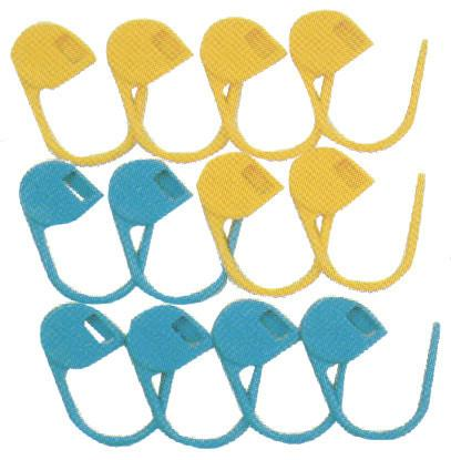 Jumbo Locking Stitch Markers 12/Pkg