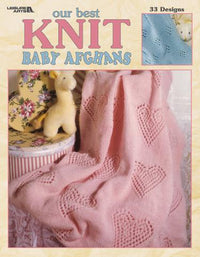 Leisure Arts Our Best Knit Baby Afghans