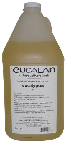 Eucalan Fine Fabric Wash Gallon Jug Eucalyptus