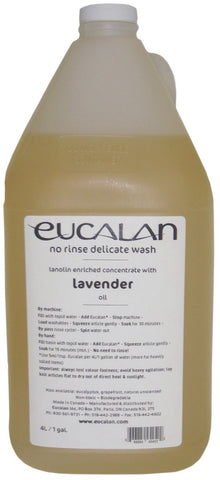 Eucalan Fine Fabric Wash Gallon Jug Lavender