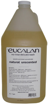 Eucalan Fine Fabric Wash Gallon Jug Natural/Unscented