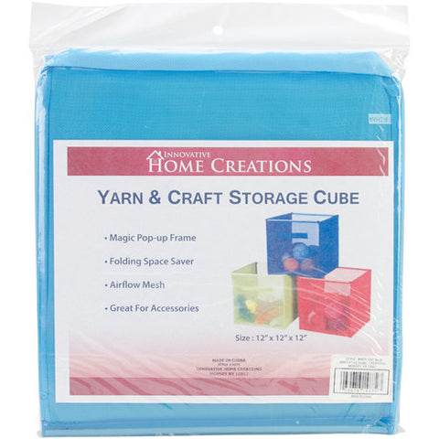 Yarn & Craft Storage Cube Sky Blue