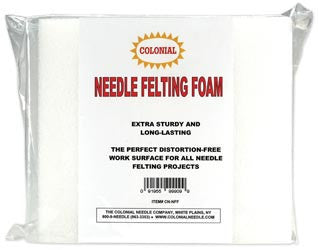 Needle Felting Foam White