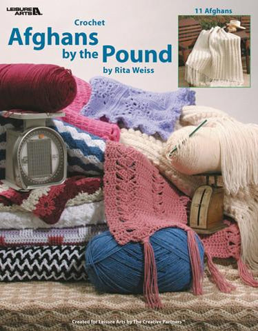 Leisure Arts Afghans By The Pound