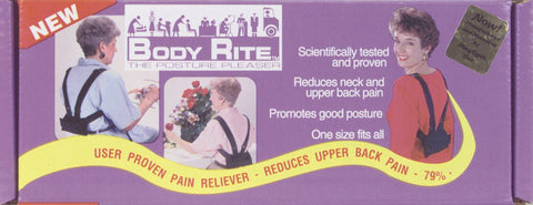 Body Rite Posture Pleaser Black