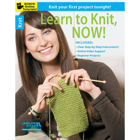 Leisure Arts Learn To Knit Now