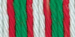 Lily Sugar'n Cream Ombre Yarn Christmas Mistletoe