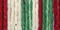 Lily Sugar'n Cream Cotton Stripes Yarn Holiday