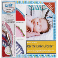 EdgIt Piercing Crochet Book, Hook & Burb Cloth Kit