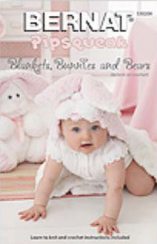Bernat Blankets Bunnies & Bears Pipsqueak
