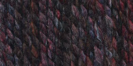 Lion Brand Wool-Ease Thick and Quick Yarn Blackstone Stripes
