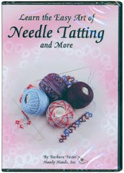 Learn The Easy Art Of Needle Tatting Dvd 45 Minutes